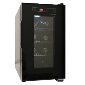 HOMEIMAGE 8 Bottle Thermal Electric Wine Cooler