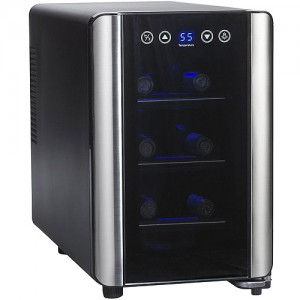 The Wine Enthusiast – 6 Bottle Wine Cooler