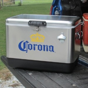 Corona ice chest
