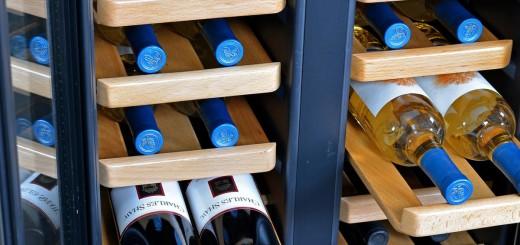 dual wine cooler